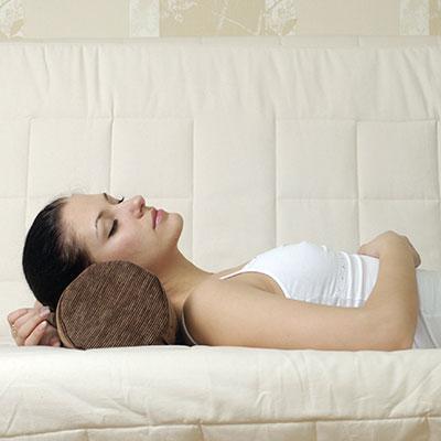 Ортопедическая подушка для шеи в форме валика
