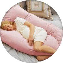 Какую подушку для беременных лучше выбрать - фото