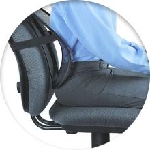 Ортопедическая накладка на спинку стула - советы по выбору - фото