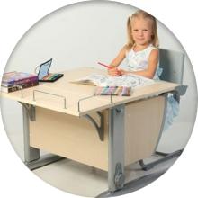 Ортопедическая парта трансформер для школьника - фото