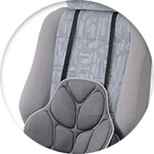 Ортопедические подушки в автомобиль - фото