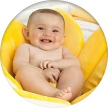 Подушка для купания младенцев - фото