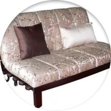 Раскладная кровать с матрасом - фото
