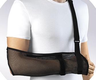 Бандаж для руки или косыночка повязка - фото