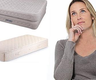Какие бывают матрасы для кроватей - фото