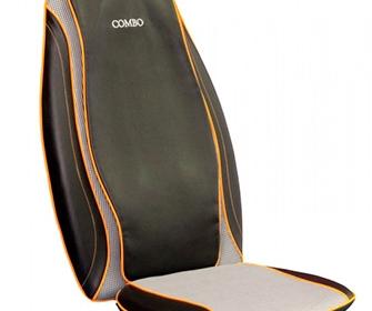 Массажная накидка на кресло для спины - фото