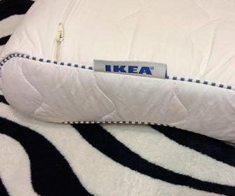 Обзор ортопедических подушек Икеа - фото