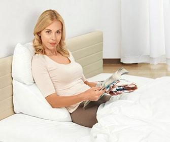 Обзор подушек для чтения в кровати - фото