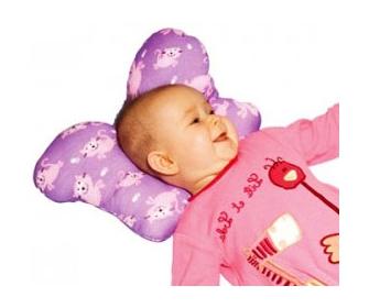 Ортопедическая подушка для грудничков «Бабочка» - фото
