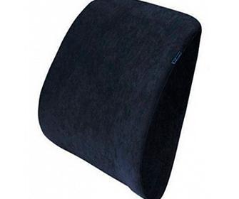 Ортопедическая подушка под спину на кресло - фото