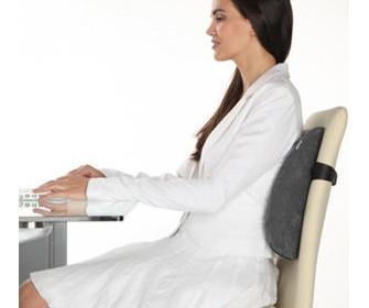 Ортопедическая спинка для стула - фото