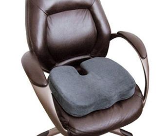 Ортопедические подушки для сидения на рабочем месте - фото