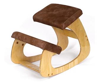 Ортопедический стул с упором в колени - фото
