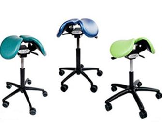 Ортопедический стул седло - фото