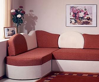 Угловой ортопедический диван - фото
